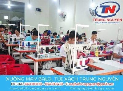 Xưởng may gia công balo túi xách ở Sài Gòn