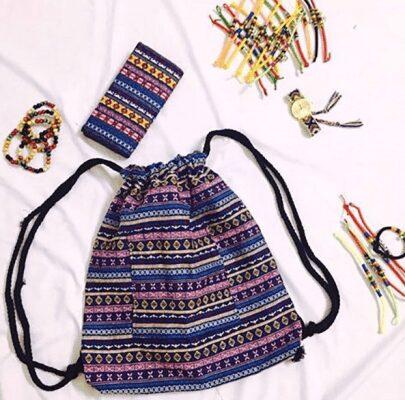 Vải không dệt được đánh giá cao trong quy trình may balo túi vải hiện nay